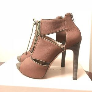 NEW - BCBGeneration Lace Up Booties